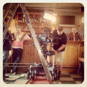 Camera dolly & light