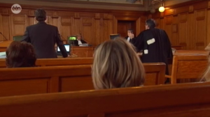 Court drama shot